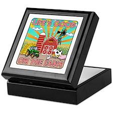 The Farm Keepsake Box