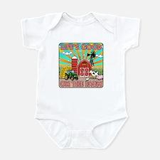 The Farm Infant Bodysuit