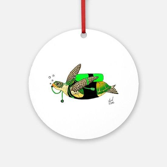 Aukai Ornament (Round)
