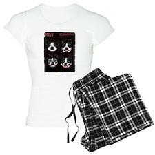 Boston Terriers as KISS Slobbery Pajamas