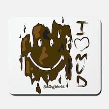 I heart Mud Mousepad