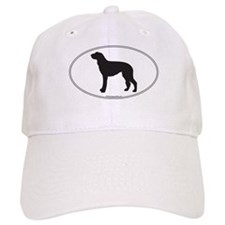 Deerhound Silhouette Baseball Cap