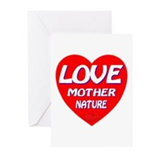 LOVE Mother Nature Greeting Cards (Pk of 10)