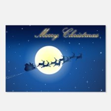 Unique Merry christmas Postcards (Package of 8)