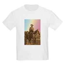 wild west cowgirl Kids T-Shirt