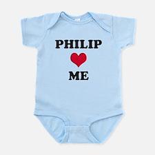 Philip Loves Me Infant Bodysuit