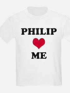Philip Loves Me T-Shirt