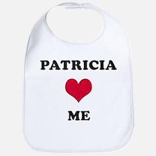 Patricia Loves Me Bib