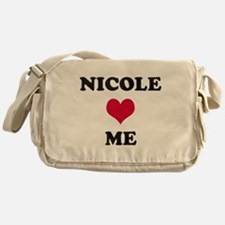 Nicole Loves Me Messenger Bag