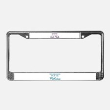 Stampers Do It with Ink Pads License Plate Frame