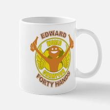 Edward Forty Hands 40 Ounces Mug