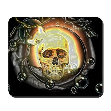 skull special 1 Mousepad