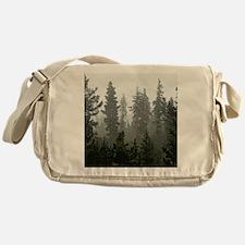 Misty pines Messenger Bag
