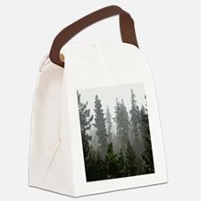 Misty pines Canvas Lunch Bag
