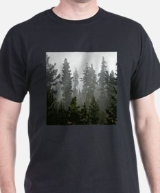 Misty pines T-Shirt