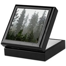 Misty pines Keepsake Box