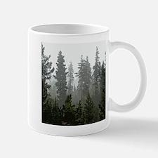 Misty pines Mug