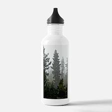 Misty pines Water Bottle