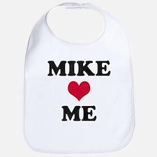 Mike Loves Me Bib