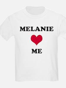 Melanie Loves Me T-Shirt