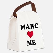 Marc Loves Me Canvas Lunch Bag