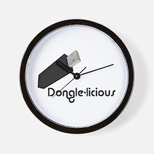 Dongle-licious Wall Clock