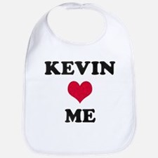 Kevin Loves Me Bib