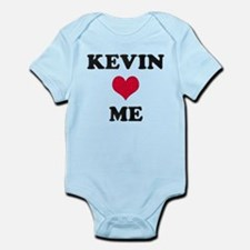 Kevin Loves Me Infant Bodysuit