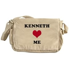 Kenneth Loves Me Messenger Bag