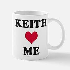 Keith Loves Me Mug