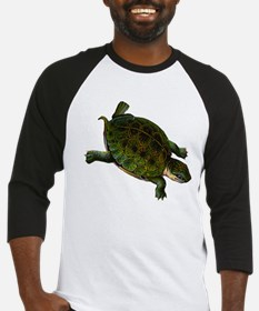 Box Turtle (Front only) Baseball Jersey