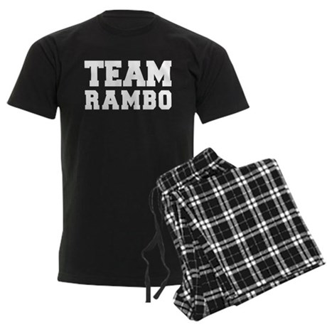 TEAM RAMBO Men's Dark Pajamas