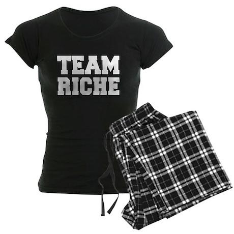 TEAM RICHE Women's Dark Pajamas