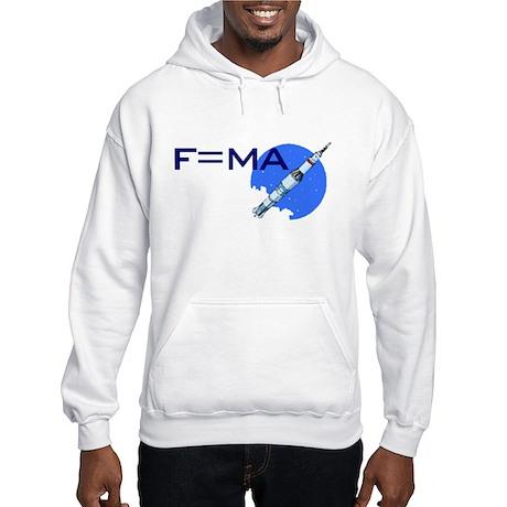 F=MA Hooded Sweatshirt