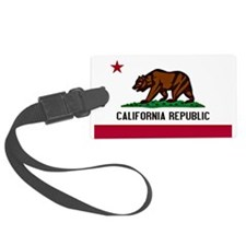 California Flag Luggage Tag