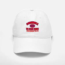 Indianapolis Cornhole Baseball Baseball Cap