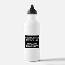 When Injustice... Water Bottle