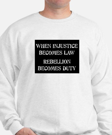 When Injustice... Sweater