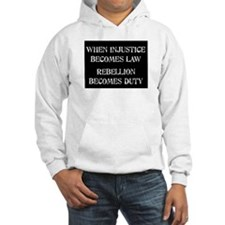 When Injustice... Jumper Hoody