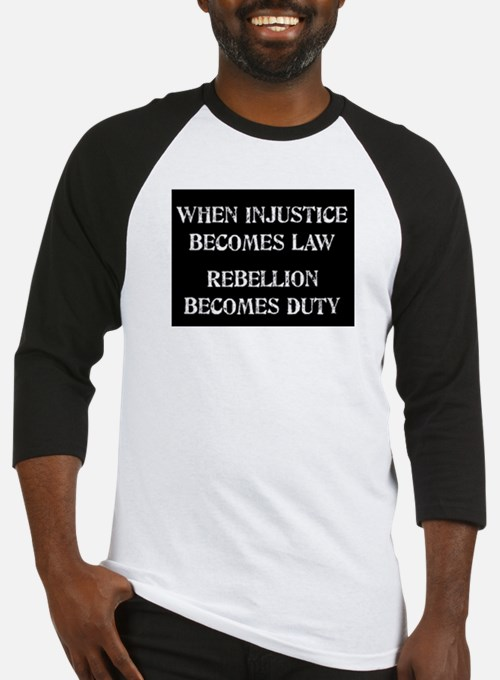 When Injustice... Baseball Jersey