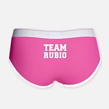 TEAM RUBIO Women's Boy Brief