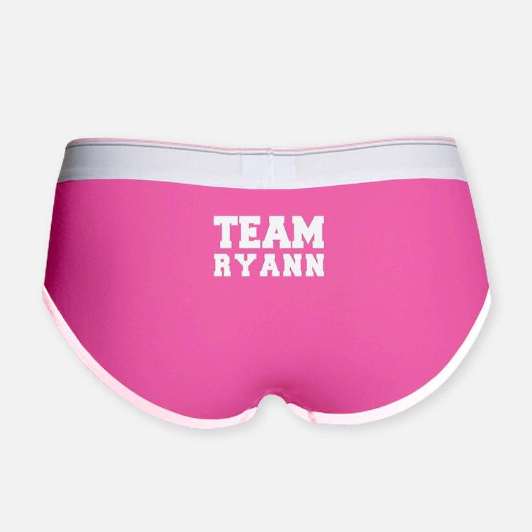 TEAM RYANN Women's Boy Brief