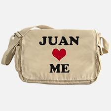 Juan Loves Me Messenger Bag