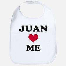Juan Loves Me Bib
