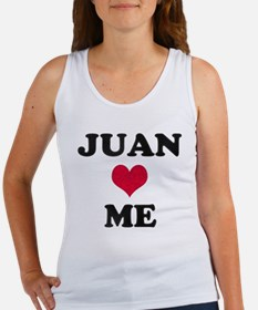 Juan Loves Me Women's Tank Top