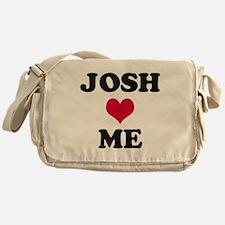Josh Loves Me Messenger Bag