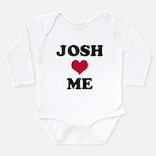 Josh Loves Me Long Sleeve Infant Bodysuit