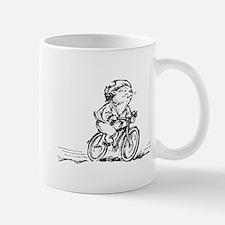 muddle headed wombat on bike Mug