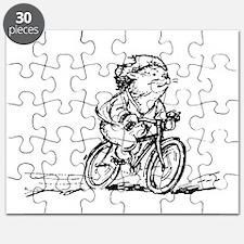 muddle headed wombat on bike Puzzle
