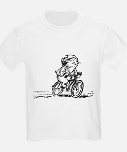 muddle headed wombat on bike T-Shirt